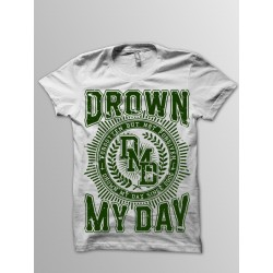 LOGO WHITE/GREEN T-SHIRT