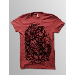 CURSE OF SORROW RED T-SHIRT