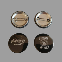 DROWN MY DAY PIN-PACK